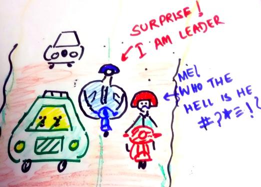 Leaders on road